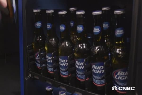 Bud Light's new fridge will send you texts