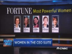 Mary Barra notches #1 spot on Fortune's powerful women list