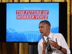 resident Barack Obama spea