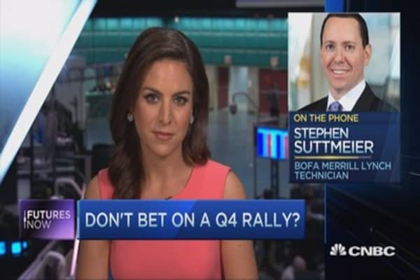 BofA: Don't bet on a Q4 rally