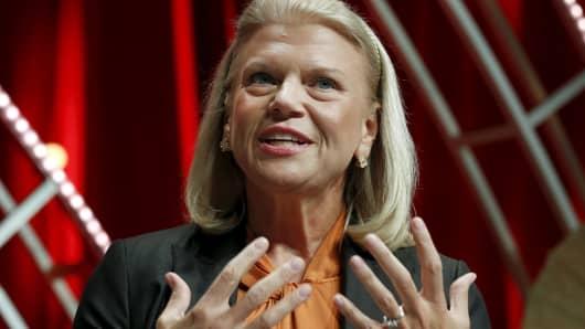 Ginni Rometty of IBM