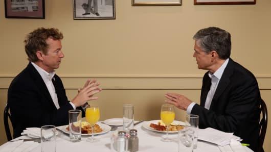 Rand Paul speaks with CNBC's John Harwood.