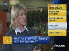 Martha Stewart: I regret not buying K-Mart