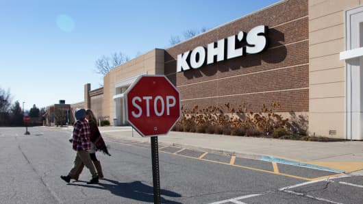 A Kohl's store in Mount Kisco, New York.