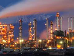 Tesoro Oil Refinery, Anacortes, Washington.