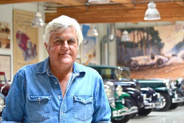 Jay Leno hosts CNBC Prime's Jay Leno's Garage.