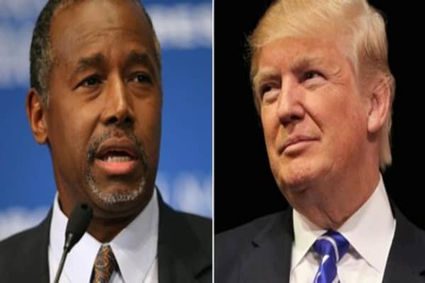 Trump and Carson ready for battle atop GOP field