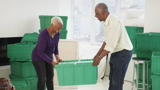 Retirement moving