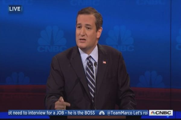 Ted Cruz: If we cut taxes, we can grow