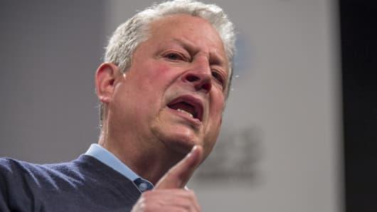 Former U.S. Vice President Al Gore.