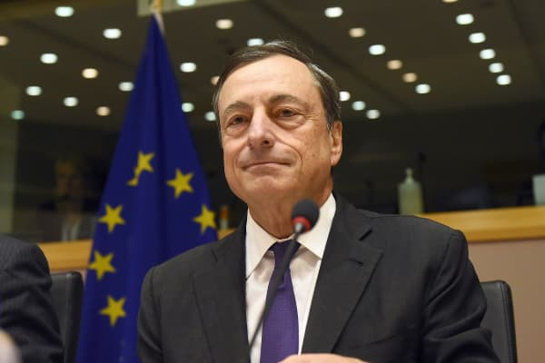 European Central Bank President Mario Draghi.