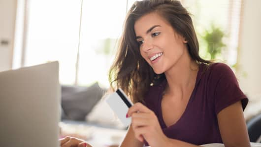 Millennial credit score