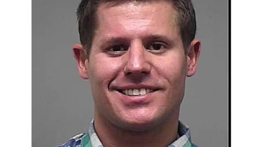Benjamin Golden in 2012 mugshot for prior arrest