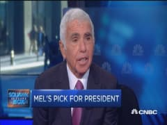 Mel Karmazin's pick for president