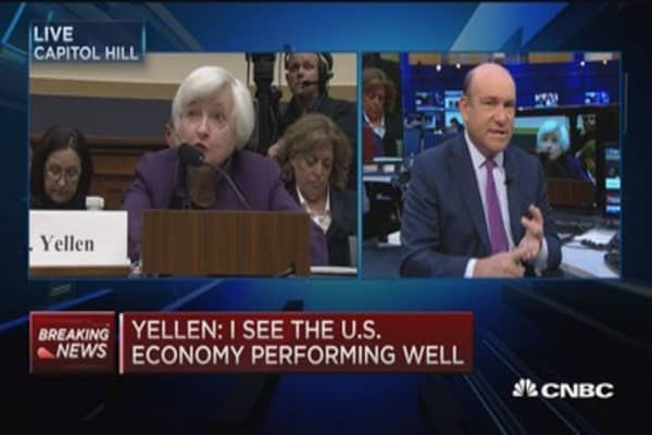 Janet Yellen: December rate hike a 'live possibility'