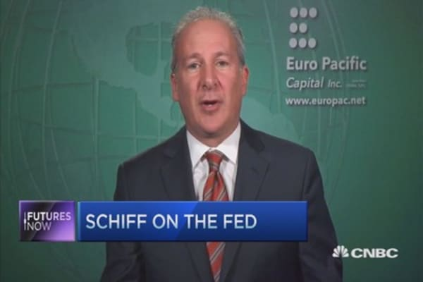 Peter Schiff on the Fed