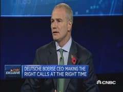 We see movement in China: CEO