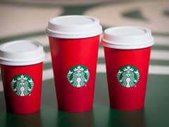 Starbucks Red Holiday Cups