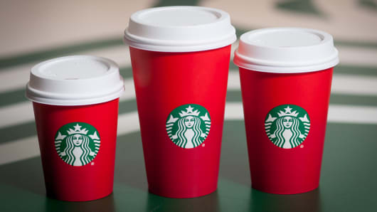 The real winner in Starbucks red-cup controversy