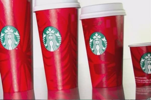 Starbucks red cup controversy