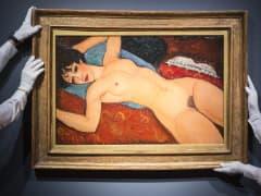 Amedeo Modigliani (1884-1920). Nu couche. Painted in 1917-1918.