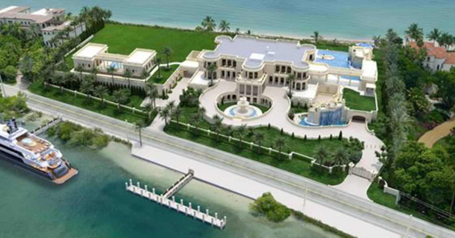 Florida Mansion Hikes Price To 159 Million