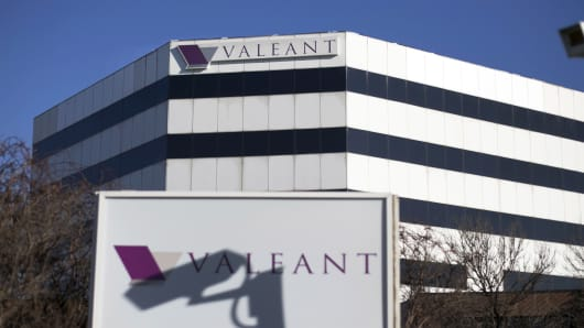The headquarters of Valeant Pharmaceuticals International in Laval, Quebec.