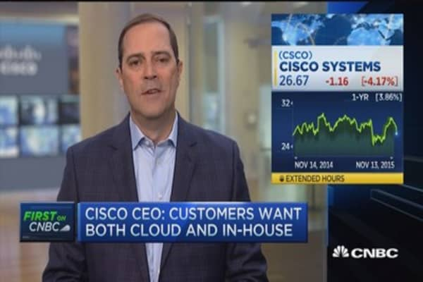 Cisco's five lenses of growth: Chuck Robbins