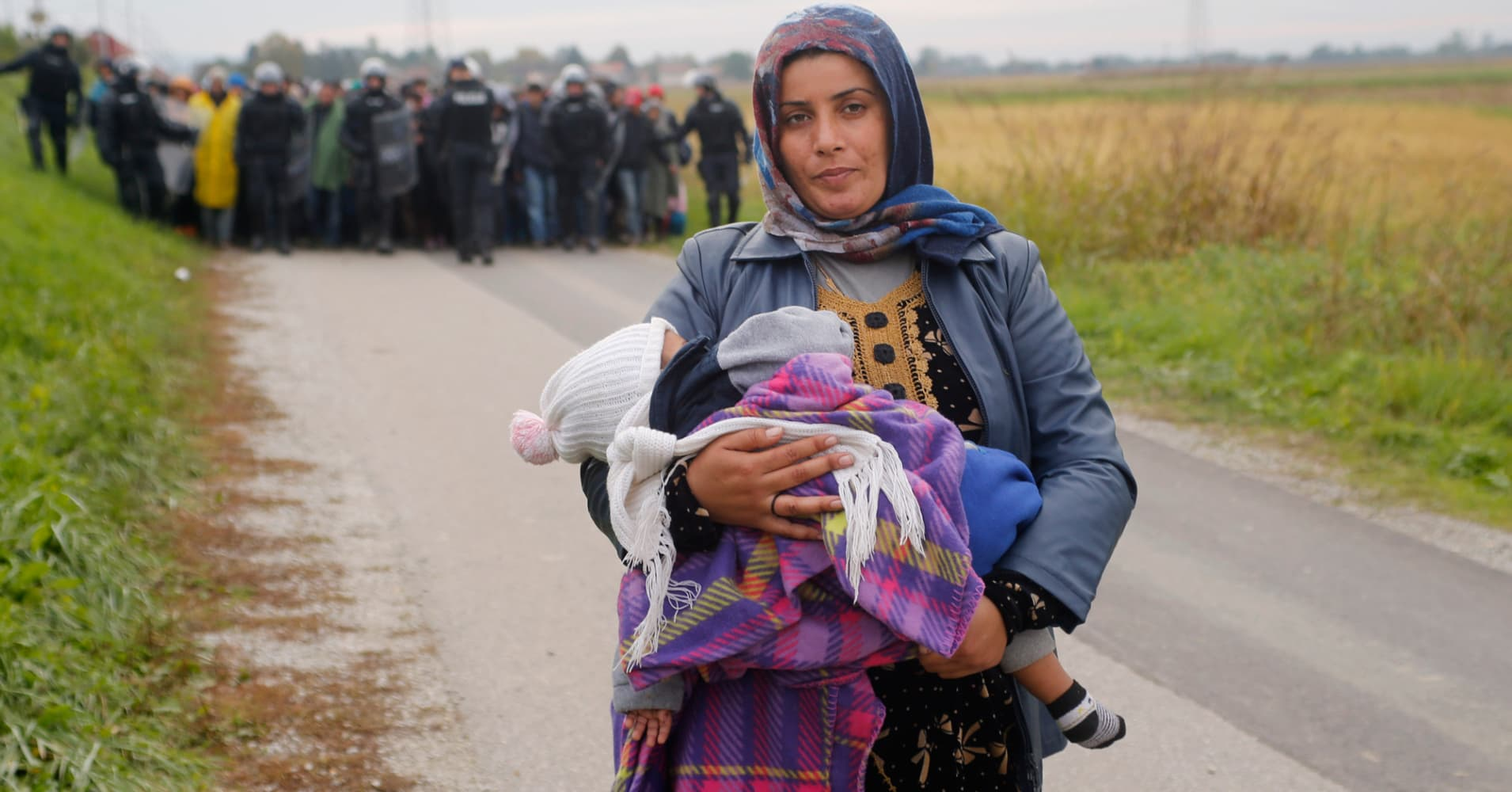 Why Syrian refugees are no threat