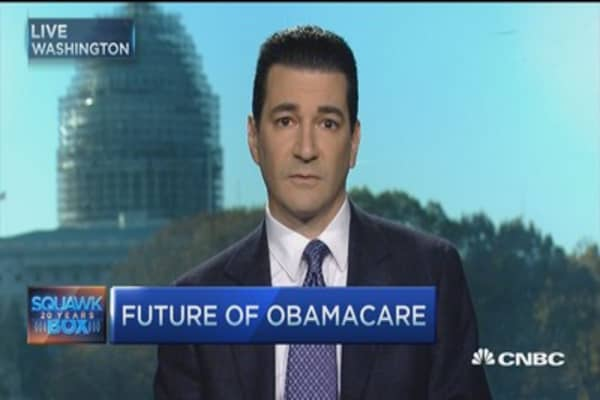 Obamacare transitioning to Medicaid mode: Scott Gottlieb