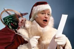 Janet Yellen as Santa