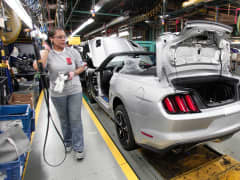 Ford Mustang assembly