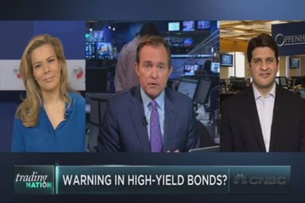 High-yield warning for markets?