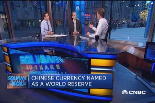 IMF to include Chinese yuan to its reserve currency basket
