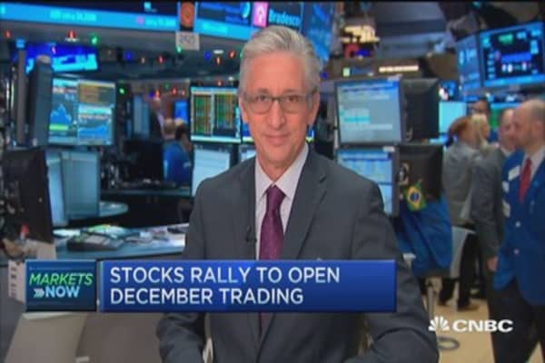 Pisani's market: All 10 sectors open positive