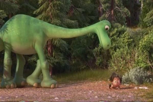 Pixar's 'Good Dinosaur' falls short at box office
