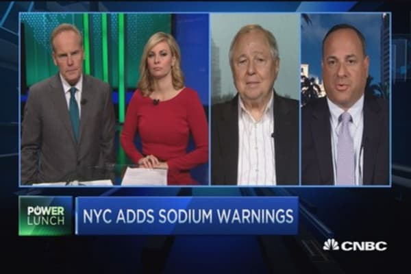 Will NYC sodium label requirements actually do anything?