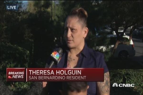 San Bernardino resident: In shock over this