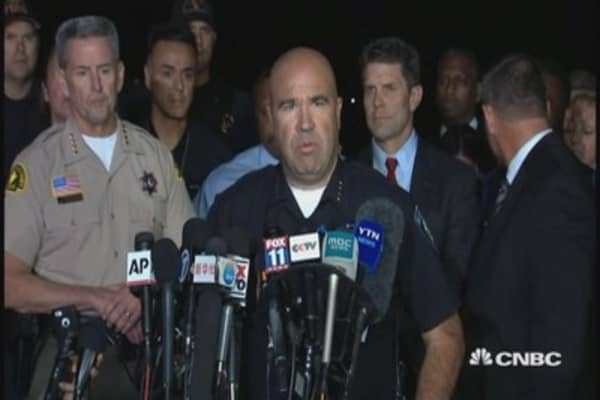 San Bernardino latest: 2 suspects dead