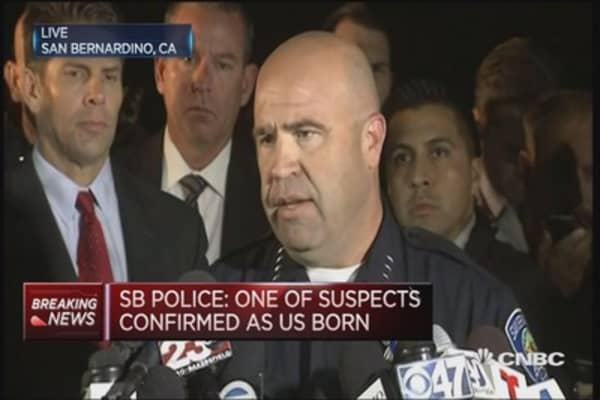 San Bernardino shooting suspects named