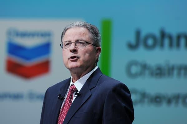 Chevron Chairman and CEO John Watson