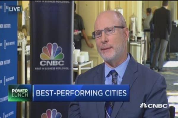San Jose named best performing US city