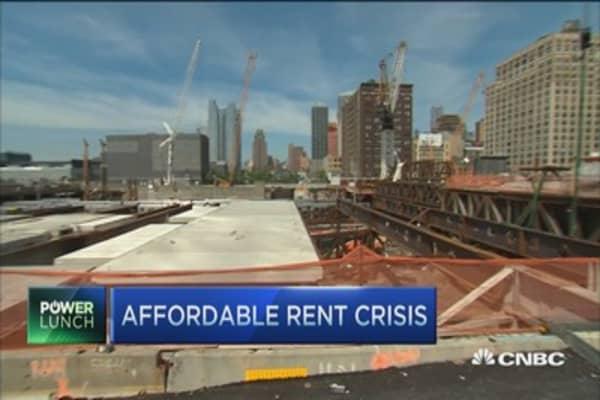 Affordable rent crisis hits alarming record