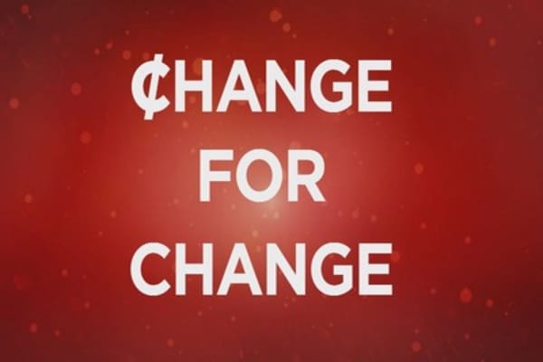 Making change ... with change