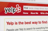 Yelp stock sours as Facebook debuts rival service