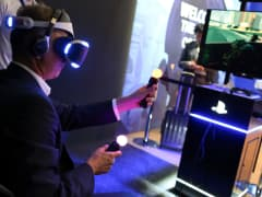 Sony Project Morpheus virtual reality
