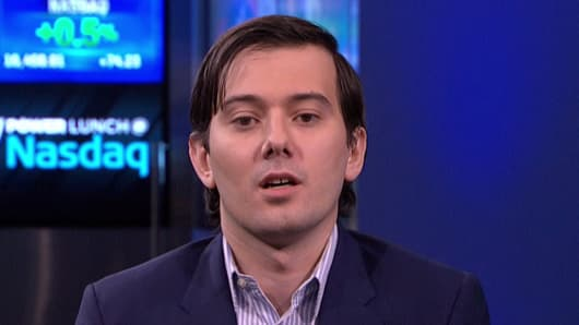 Martin Shkreli Is Harassing a Female Writer on Twitter