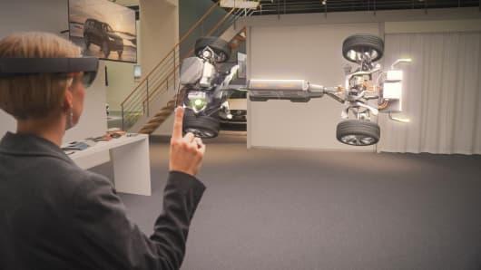 Microsoft Volvo Virtual Reality