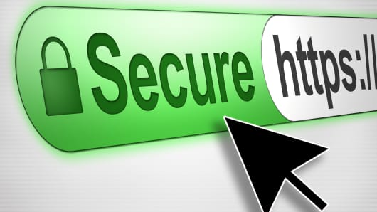 Internet Security SSL Certificate