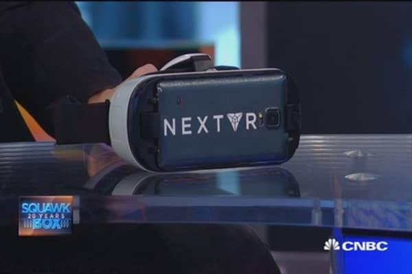 Big biz of virtual reality